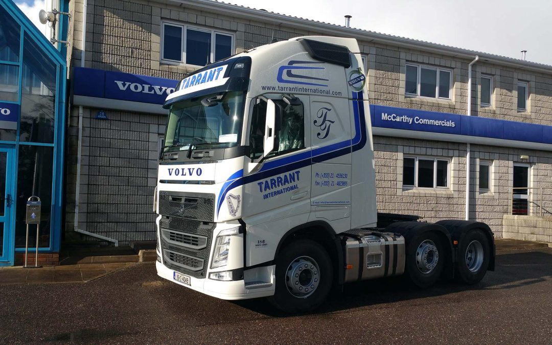 5 new Volvo FH Globetrotter XL join the fleet