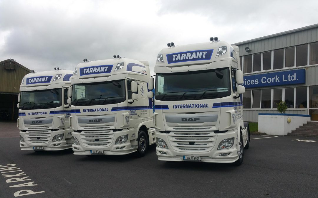 3 new DAFS arrived for our European Service