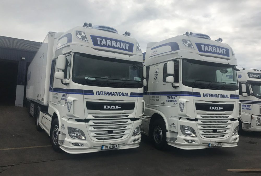 9 DAF Tractot Units Added to the Fleet